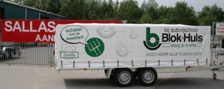 BE lesaanhangwagen Zwolle volgens de normen van CBR
