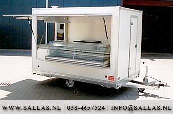 Spiksplinternieuw Verkoopwagen fabrikant Sallas, standaard, maatwerk & foodtrucks SM-68